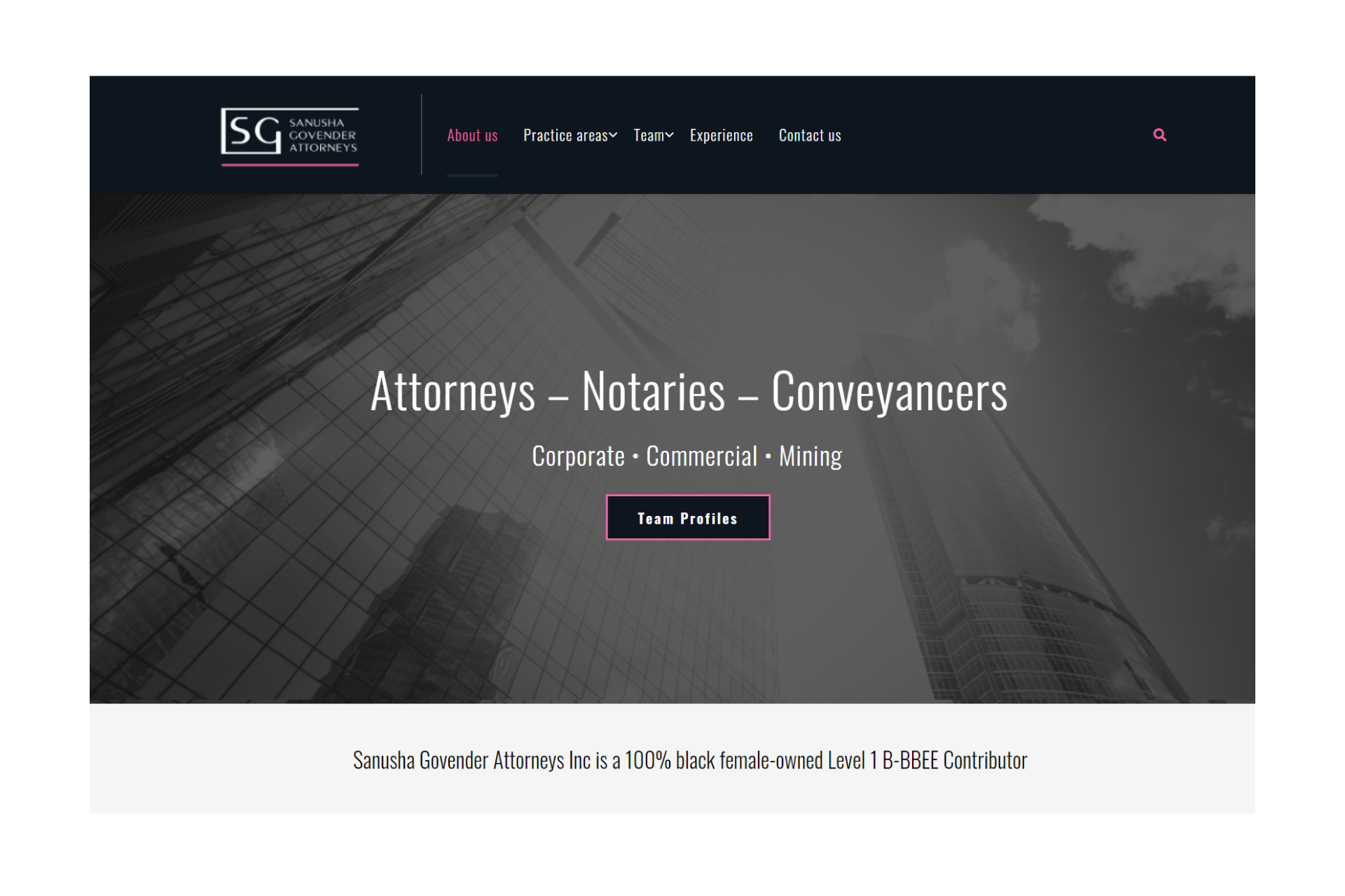 Sanusha Govender Attorneys Inc